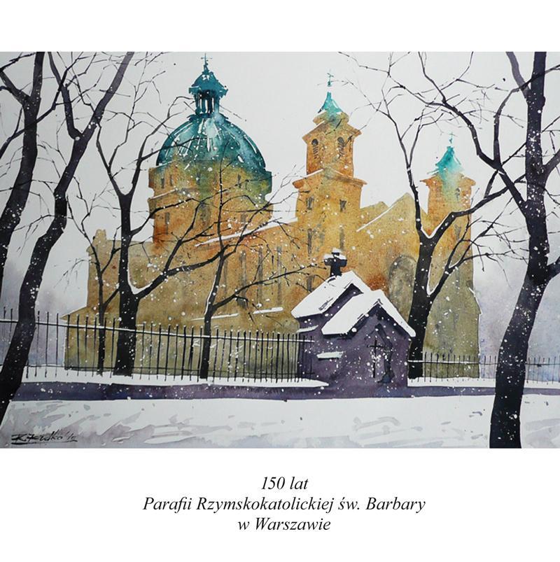 150 lat parafii św. Barbary w Warszawie